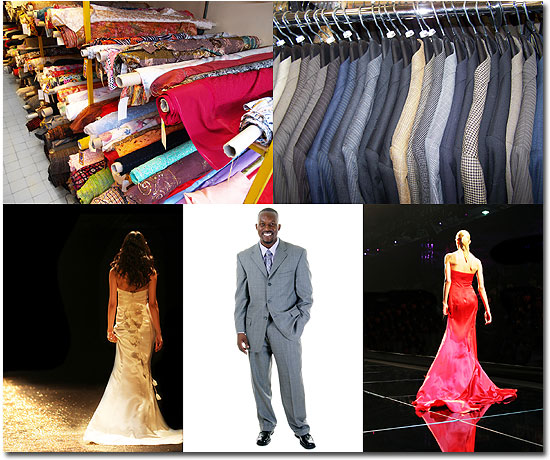 Fabric Guide and Fabric Directory for the fashion industry and